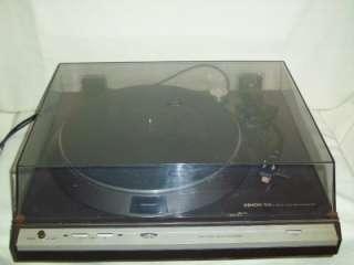 Denon Direct Drive Record Player Turntable DP 30L