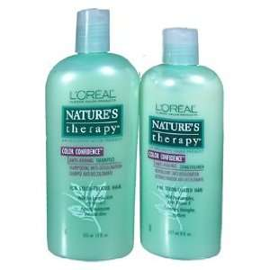 LOREAL Natures Color Confidence Anti Fading Hair Care Kit