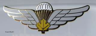 CANADA ARMY Canadian Airborne PARACHUTE PARA JUMP WINGS