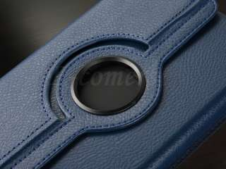Kindle Fire WIFI 360°Rotating Leather Folio Stand Case Cover