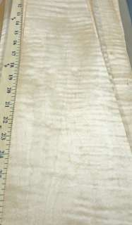 Curly Maple wood veneer 5 x 20 with no backing