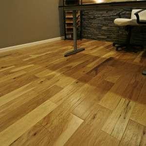 Hand Scraped Hickory Hardwood Flooring Wood Floor
