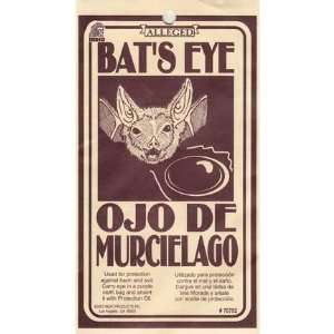 Bat Eye Wicca Wiccan Metaphysical Religious New Age