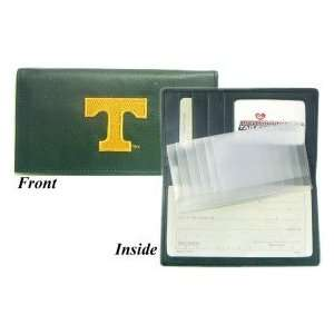 Tennessee Volunteers Embroidered Leather Checkbook Cover
