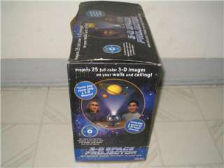 Uncle Milton 3d Space Projector educational fun kids