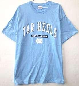 NORTH CAROLINA TARHEELS NCAA LIGHT BLUE T SHIRT LG