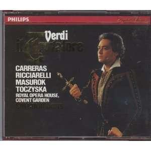 : Giuseppe Verdi, Sir Colin Davis, Katia Ricciarelli, Jose Carreras