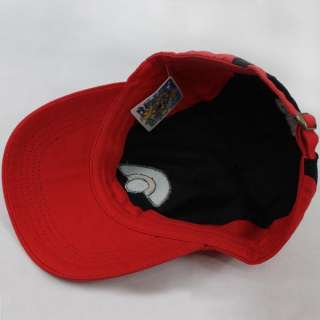 Pokemon Satoshi Ash Ketchum Baseball Cap Hat Cosplay