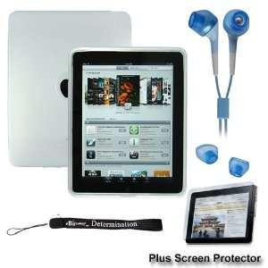 Premium White Thick Soft Gel Silicone Skin for Apple iPad