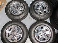 Four 2010 Dodge Ram 2500 3500 Factory 17 Wheels Tires OEM Rims 2383