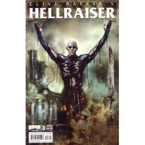 Clive Barkers Hellraiser Vol 2 #3 Cover B Christopher Monfette Books