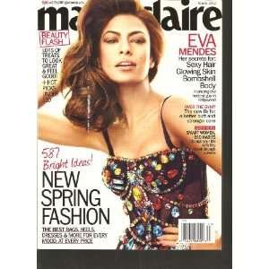 Marie Claire Magazine (Eva Mendes, March 2012) Various Books