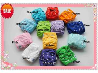 New 12 Coolababy One Size Cloth Diapers with 24 Inserts