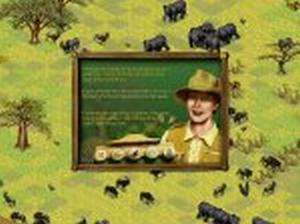 PC CD create own wild animal plants Africa safari park simulation game