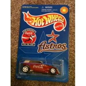 Houston Astros Special Edition Hot Wheels Coca Cola Phaeton Soft top