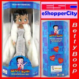 Betty Boop Diva White Dress Doll Barbie Type Figure New