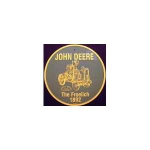 John Deere The Froelich Circle Sign: Automotive