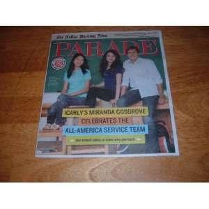 Parade Magazine, August 14, 2011   iCarlys Miranda Cosgrove