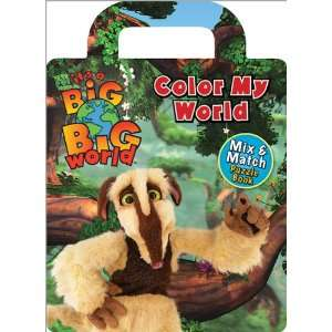 Jigsaw Puzzle Book Color My World (9780696235443) Don Curry Books