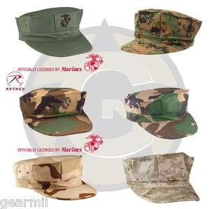 Marine Corps Fatigue Cap USMC 8 Point Cover MARPAT Camo 613902563148