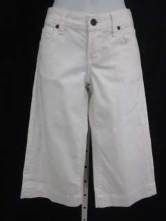 CITIZENS OF HUMANITY White Cropped Jeans Pants Sz 25