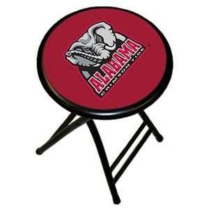 University of Alabama Crimson Tide Folding Bar Stool