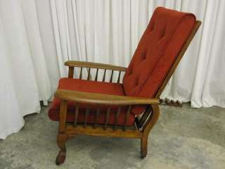 Antique Morris Recliner Chair Victorian Style Awesome