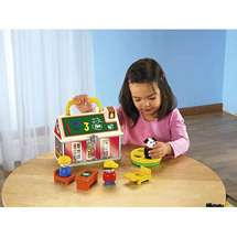 Fisher Price Play n Go School House Little People