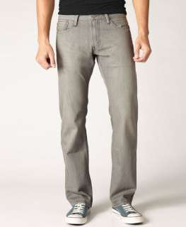 Levis Mens 514 Slim Straight Jeans Silver Fox 31 x 30