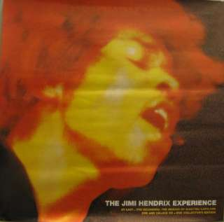 Two Jimi Hendrix promo posters Electric Ladyland New