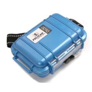 Pelican i1010 Waterproof Case for iPod (Blue)  Players