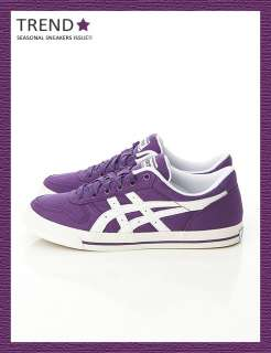 Brand New Asics Aaron CV Purple/White Shoes #34