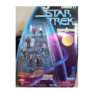 Force Figure Set   Star Trek Warp Factor Series 1 Set Toys & Games