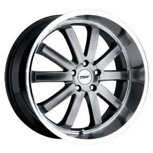 TSW Alloy Wheels Estoril Hyper Black Machined Wheel (18x8