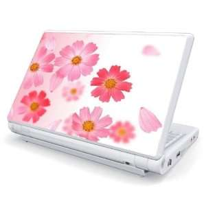 Pink Daisy Design Skin Cover Decal Sticker for Acer (Aspire ONE) 8.9