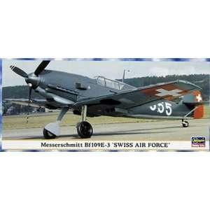 72 Scale Messerschmitt Bf 109E 3 Swiss Air Force Toys & Games