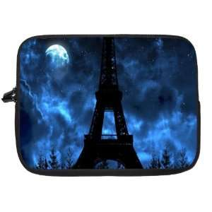 Eiffel Tower Design Laptop Sleeve   Note Book sleeve