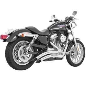 Performance American Sharp Curve Radius Chrome Exhaust for 2008 2011