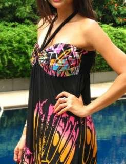 LONG MAXI/BOHO/HIPPIE SUMMER LONG WOMEN DRESS 8 10 12