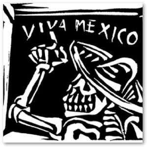 Viva Mexico  Mexicos Day of the Dead Poster