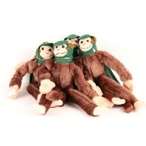 Licensed Helmeted Super Fly Monkey 4 Pack   Green: Sports & Outdoors