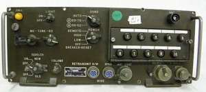 RT 246A/VRC MILITARY RADIO TRANSCEIVER FRONT PANEL