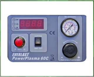 PowerPlasma 60C CNC IGBT plasma cutter 60amp 60a pilot arc 220v