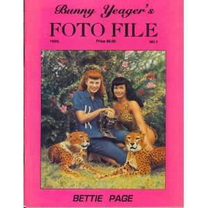 Bunny Yeagers Foto File No. 1, Bettie Page Bunny Yeager