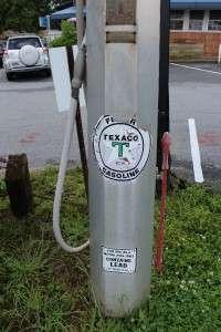 10 Gallon Visible Glass Gas Pump Texaco Benkins Pumps
