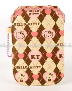 Hello Kitty Cell Mobile Phone Pouch iPhone Case EIGEL3
