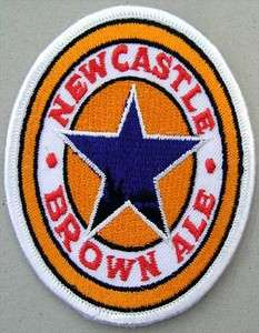 NEWCASTLE BROWN ALE EMBROIDERED PATCH#02