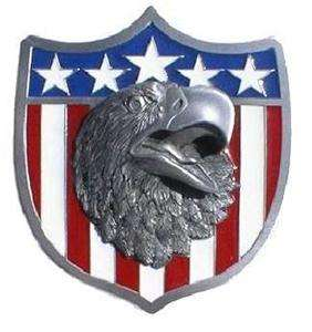 2006 FORD METAL AMERICAN EAGLE HITCH COVER