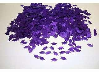 oz LOT Purple GRADUATION PARTY Class of 2012 Table CONFETTI Invite