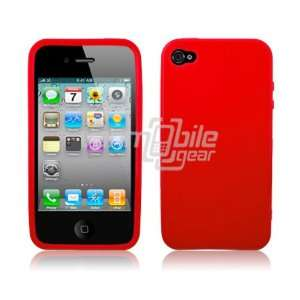 VMG RED SOLID Color Premium 1 Pc TPU Hard Rubber Gel Skin